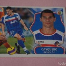 Cromos de Fútbol: CROMO DE FÚTBOL CASQUERO DEL GETAFE C.F. SIN PEGAR LIGA ESTE 2008-2009/08-09. Lote 110454691