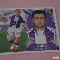 Cromos de Fútbol: CROMO DE FÚTBOL MARCOS DEL REAL VALLADOLID C.F. SIN PEGAR LIGA ESTE 2008-2009/08-09. Lote 110526099