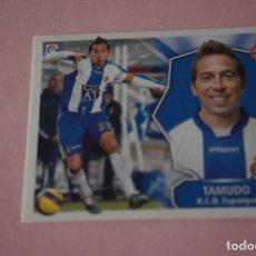 Cromos de Fútbol: CROMO DE FÚTBOL TAMUDO DEL R.C.D. ESPAÑOL-ESPANYOL SIN PEGAR LIGA ESTE 2008-2009/08-09. Lote 110535775