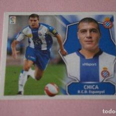 Cromos de Fútbol: CROMO DE FÚTBOL CHICA DEL R.C.D. ESPAÑOL-ESPANYOL SIN PEGAR LIGA ESTE 2008-2009/08-09. Lote 110536055
