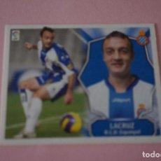 Cromos de Fútbol: CROMO DE FÚTBOL LACRUZ DEL R.C.D. ESPAÑOL-ESPANYOL SIN PEGAR LIGA ESTE 2008-2009/08-09. Lote 110536107