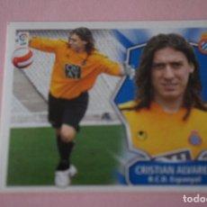 Cromos de Fútbol: CROMO DE FÚTBOL CRISTIAN ALVAREZ DEL R.C.D. ESPAÑOL-ESPANYOL SIN PEGAR LIGA ESTE 2008-2009/08-09. Lote 110537271