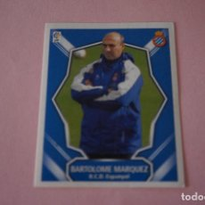 Cromos de Fútbol: CROMO DE FÚTBOL BARTOLOME MARQUEZ DEL R.C.D. ESPAÑOL-ESPANYOL SIN PEGAR LIGA ESTE 2008-2009/08-09. Lote 110537559