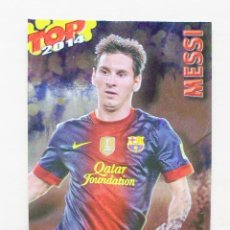 Cromos de Fútbol: 622 MESSI FC BARCELONA TOP AZUL BRILLO MUNDICROMO 2013 2014 13 14.. Lote 110630187