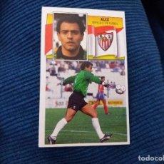 Cromos de Fútbol: 90/91 ESTE. COMO NUNCA PEGADO BAJA SEVILLA ALEX. Lote 62449388