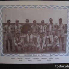Cromos de Fútbol: GERONA CLUB DE FUTBOL - GIRONA - CROMO GRANDE PLANTILLA -VER FOTOS-(V-13.328). Lote 110913139