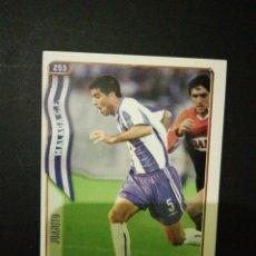 Cromos de Fútbol: FICHAS LIGA 2004-2005 MUNDICROMO-Nº253 JUANITO MALAGA CF. Lote 110913174