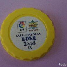 Cromos de Fútbol: TAZO DE FÚTBOL LAS FICHAS DE LA LIGA 2004 LIGA MUNDICROMO. Lote 110951783