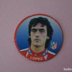 Cromos de Fútbol: TAZO DE FÚTBOL LOPEZ DEL ATLETICO DE MADRID Nº 85 LIGA DIARIO SPORT 94-95. Lote 110960079