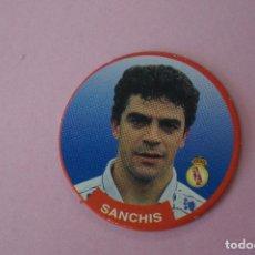 Cromos de Fútbol: TAZO DE FÚTBOL SANCHIS DEL REAL MADRID C.F. Nº 45 LIGA DIARIO SPORT 94-95. Lote 110960627