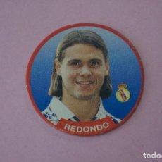 Cromos de Fútbol: TAZO DE FÚTBOL REDONDO DEL REAL MADRID C.F. Nº 25 LIGA DIARIO SPORT 94-95. Lote 110960695