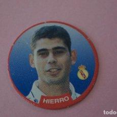 Cromos de Fútbol: TAZO DE FÚTBOL HIERRO DEL REAL MADRID C.F. Nº 6 LIGA DIARIO SPORT 94-95. Lote 110961127