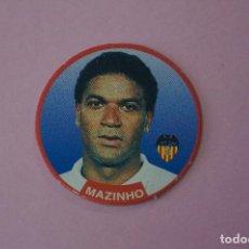 Cromos de Fútbol: TAZO DE FÚTBOL MAZINHO DEL VALENCIA C.F. Nº 28 LIGA DIARIO SPORT 94-95. Lote 110961599