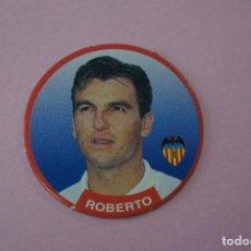 Cromos de Fútbol: TAZO DE FÚTBOL ROBERTO DEL VALENCIA C.F. Nº 86 LIGA DIARIO SPORT 94-95. Lote 110961651