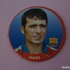 Cromos de Fútbol: TAZO DE FÚTBOL HAGI DEL F.C. BARCELONA Nº 41 LIGA DIARIO SPORT 94-95. Lote 110964523