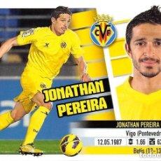 Cromos de Fútbol: 14 JONATHAN PEREIRA VILLARREAL ESTE 13/14. Lote 111090463