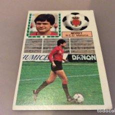 Cromos de Fútbol: CROMOS LIGA DE FÚTBOL 83 84 MOREY DEL MALLORCA. Lote 111170123