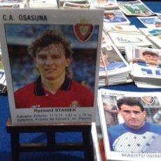 Cromos de Fútbol: FUTBOL ESTRELLAS DE LA LIGA 93 / 94 PANINI - FICHAJE - INCORPORACION NUEVO ( STANIEK ) OSASUNA. Lote 147830238