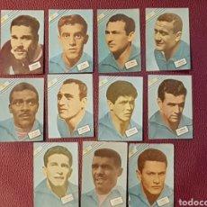 Cromos de Fútbol: FHER MUNDIAL CHILE 1962 URUGUAY 11 CROMOS DIFERENTES. Lote 111326062
