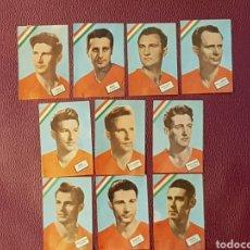 Cromos de Fútbol: FHER MUNDIAL CHILE 1962 HUNGRÍA 10 CROMOS DIFERENTES. Lote 111328234