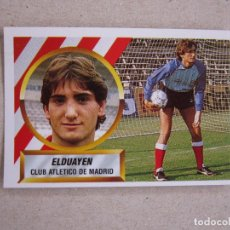 Cromos de Fútbol: ESTE 88-89 ELDUAYEN ATLETICO MADRID 1988-1989 NUEVO. Lote 245108845