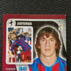 Cromos de Fútbol: 40 PUYOL - F.C. BARCELONA - DERBY TOTAL PANINI - 2005 2006 05 06. Lote 111405267