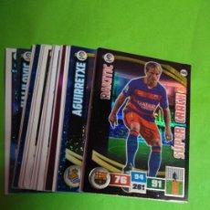 Cromos de Fútbol: LOTE 22 CROMOS ADRELALYN 15 - 16. Lote 111471951