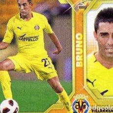 Cromos de Fútbol: 9 BRUNO VILLARREAL ESTE 11/12. Lote 111549015