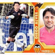 Cromos de Fútbol: 2 DIEGO ALVES VALENCIA ESTE 11/12. Lote 111549055