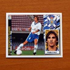 Cromos de Fútbol: TENERIFE - PABLO PAZ - EDICIONES ESTE 1997-1998, 97-98 - NUNCA PEGADO. Lote 111571032