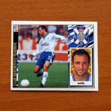 Cromos de Fútbol: TENERIFE - MATA - EDICIONES ESTE 1997-1998, 97-98 - NUNCA PEGADO. Lote 111571170