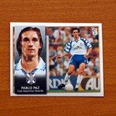 Cromos de Fútbol: TENERIFE - PABLO PAZ - EDICIONES ESTE 1998-1999, 98-99 - NUNCA PEGADO. Lote 111574439