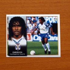 Cromos de Fútbol: TENERIFE - EMERSON - EDICIONES ESTE 1998-1999, 98-99 - NUNCA PEGADO. Lote 111577172