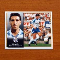 Cromos de Fútbol: TENERIFE - CHANO - EDICIONES ESTE 1998-1999, 98-99 - NUNCA PEGADO. Lote 111577256