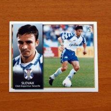Cromos de Fútbol: TENERIFE - SLOVAK - EDICIONES ESTE 1998-1999, 98-99 - NUNCA PEGADO. Lote 111577846