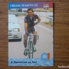 Cromos de Fútbol: CROMO PANINI BARÇA CARDS 90 96 Nº 71 DREAM TEAM 91 92 STOICHKOV A MONTSERRAT - BARCELONA LIGA 1996. Lote 111614283