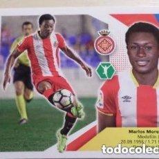 Cromos de Fútbol: 14 MARLOS MORENO GIRONA ESTE 17/18. Lote 112067283