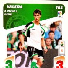 Cromos de Fútbol: 162 VALERA - RACING DE SANTANDER - PLAY LIGA PANINI - 2008 2009 08 09. Lote 112125591