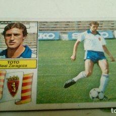 Cromos de Fútbol: TOTO ZARAGOZA ESTÉ 82-83 FICHAJES. Lote 112225131