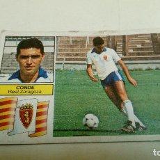 Cromos de Fútbol: CONDE ESTÉ 82-83 FICHAJES. Lote 112225219