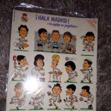 Cromos de Fútbol: HALA MADRID TU EQUIPO EN PEGATINAS. Lote 156567906