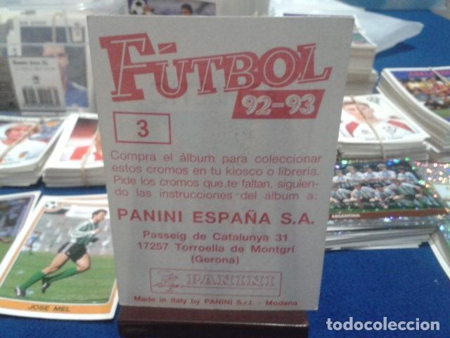 Cromos de Fútbol: CROMO PANINI FUTBOL 92 - 93 NUNCA PEGADO ESCUDO ( ATHLETIC BILBAO ) Nº 3 - Foto 2 - 112629263