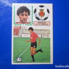 Cromos de Fútbol: BRAULIO MALLORCA VERSION ALBUM LIGA ESTE 83 84 1983 1984 CROMO DESPEGADO. Lote 112638839