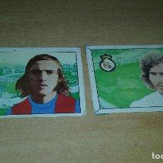 Cartes à collectionner de Football: FHER 1974-75. NEESKENS / BREITNER ULTIMOS FICHAJES.. Lote 112725583