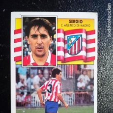 Cromos de Fútbol: ESTE 90/91 1990/1991 BAJA SERGIO RECUPERADOS DEL ALBUM. Lote 112891927