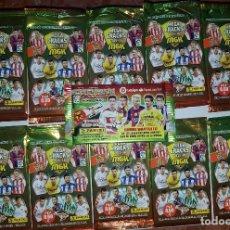 Cromos de Fútbol: LOTE DE 10 SOBRES MEGACRACKS SIN ABRIR 15-16 +SOBRES DE REGALO ADRENALYN 16-17 SOBRE GRAUITO PANINI. Lote 113004747
