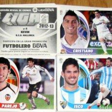 Cromos de Fútbol: LOTE 290 CROMOS EDICIONES ESTE PANINI LIGA 2012-13 SPANISH LEAGUE STICKERS. Lote 113117451