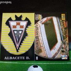 Cromos de Fútbol: 561 ESCUDO ESTADIO ALBACETE 2ª DIVISION CROMOS FICHAS ALBUM MUNDICROMO LIGA FUTBOL 2002 2003 02 03. Lote 113244903
