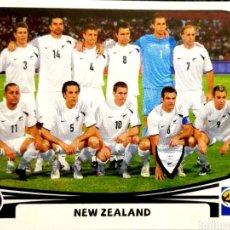 Cromos de Fútbol: 448 EQUIPO ALINEACIÓN - NUEVA ZELANDA - MUNDIAL SUDAFRICA 2010 PANINI FIFA WORLD CUP SOUTH AFRICA. Lote 113245311