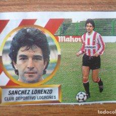 Cromos de Fútbol: CROMO ESTE LIGA 88 89 SANCHEZ LORENZO (LOGROÑES) - DESPEGADO - 1988 1989. Lote 113246843